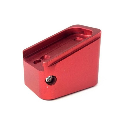 Bell CNC Magazine Base for G17 Magazine - Red
