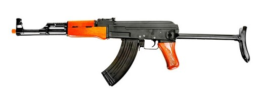 CYMA AK47S Full Metal - Real Wood (FLIP UP STOCK) - Asia Version