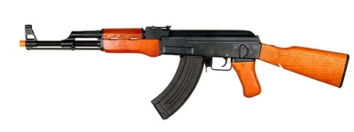 CYMA AK47 Full Metal - Real Wood, Electric BlowBack - Asia Version