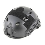 Lancer Tactical Basic Plastic Fast Helmet - BLACK