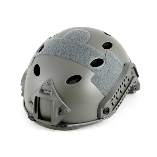 Lancer Tactical Basic Plastic Fast Helmet - FOLIAGE GREEN