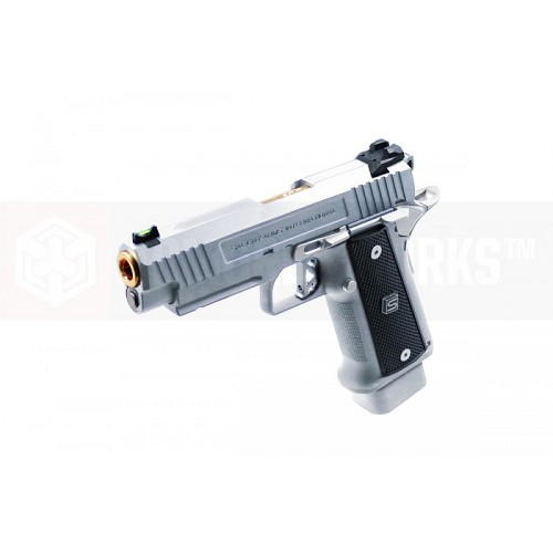 EMG / Salient Arms International 2011 DS Airsoft Training Weapon 4.3 - SILVER