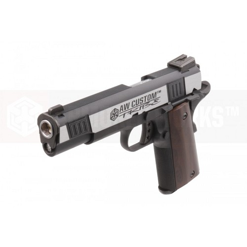 Armorer Works Custom NE3003 1911 Style Gas Blowback Airsoft Pistol - Dual Tone