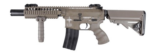 King Arms VLT VIS CQB - DARK EARTH