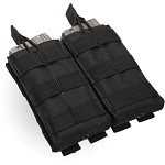 Condor - Double M4/M16 Open Top Mag Pouch (BLACK)