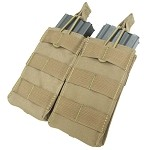 Condor - Double M4/M16 Open Top Mag Pouch (CB)