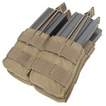 Condor - Double Stacker M4 Mag Pouch (CB)