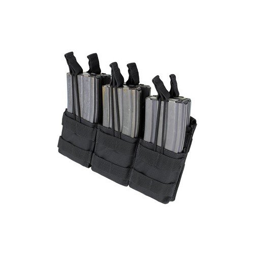 Condor - Triple Stacker M4 Mag Pouch (BLACK)