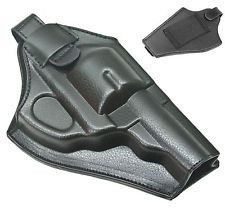 A.C.M. Faux Leather Belt Mounted Revolver Holster - For 2 and 4 inch models