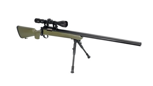 WELL VSR10 Traditional Scope & Bipod (MB03DG) - Olive Drab
