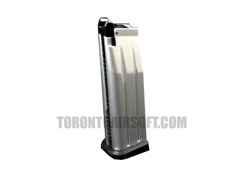 WE Hicapa 5.1 Series Magazine - Green Gas / Propane (CHROME)