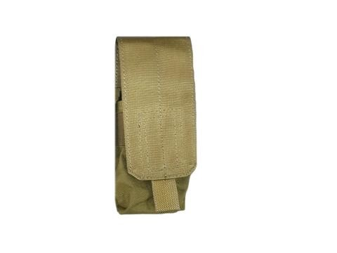 Pantac Molle M16 Single Mag Pouch - Tan