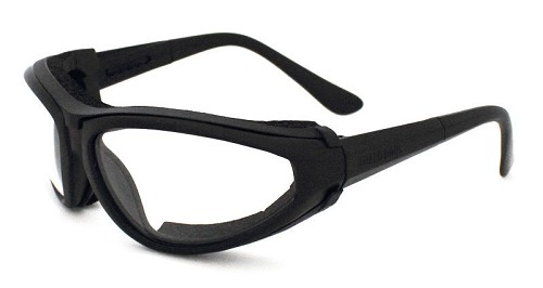 Guard-Dogs Sidecars II Clear Goggle-lt BLACK