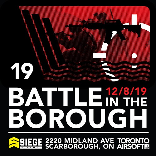 Battle in the Borough 2019 - Game Ticket! FREE BONUS! Walk-ons Welcome