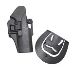 ACM - Blackhawk Style CQC Hard Plastic Holster for GLOCK 17 - BLACK