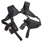 ASG Strike Systems Tactical Ambidextrous Shoulder Revolver Holster