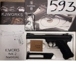 KJW Mark-II High Power Airsoft CO2 Pistol - Non blowback **CLEARANCE(593)