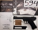 KJW Mark-II High Power Airsoft CO2 Pistol - Non blowback **CLEARANCE(594)