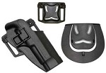 ACM - Blackhawk Style CQC Hard Plastic Holster for M92 - BLACK