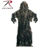 Rothco Lightweight All Purpose Woodland Ghillie Suit - M/L