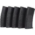 Valken RMAG Mid-Cap Thermold-140 Rd-5 pack - BLACK