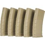 Valken RMAG Mid-Cap Thermold-140 Rd-5 pack - TAN