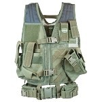 Valken Crossdraw Vest (Youth)  - OLIVE DRAB