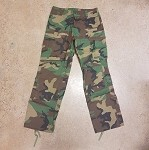 ACM Woodland BDU Pants - M **CLEARANCE