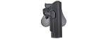 Amomax Gen2 Rigid Holster for 1911 - BK