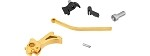 Airsoft Masterpiece CNC Steel Hammer & Sear Set for Hi-Capa [S Style Spur] - GOLD