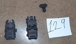 A.C.M Mbus Flip Up Sights **CLEARANCE-129**