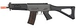 GHK SIG 553 Gas Blowback Airsoft Rifle (BLACK)