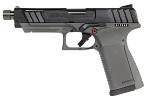 G&G GTP9 Gas Blowback Pistol - Green Gas - BLACK/GREY