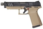 G&G GTP9 Gas Blowback Pistol - Green Gas - DST / BLACK