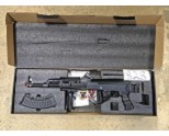 Lancer Tactical LT-728U-NB TACTICAL AK AEG RIFLE w/ FOLDING STOCK (BK), NO BATTERY/CHARGER *GRAVEYARD CLEARANCE* (828)