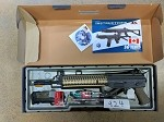 ICS SIG 551 MRS RIS AEG Dark Earth Airsoft Rifle *GRAVEYARD CLEARANCE* (924)