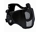 Valken Zulu Airsoft Mesh Mask - Black