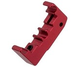 Airsoft Masterpiece Aluminum Puzzle Trigger - Base - RED