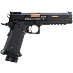 EMG STI / TTI Licensed JW3 2011 Combat Master Airsoft Training Pistol - Green Gas Version