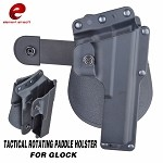 Element EX361 Tactical Rotating Paddle Holster for G17/G18C (BK)