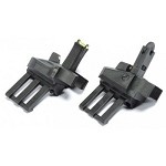 APS Athena R-Type Folding Fibre Optic Iron sights set - BLACK