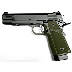 KJW Full Metal 1911 Tactical HICAPA KP05 - CO2 Version - OLIVE DRAB