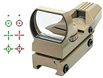 A.C.M. Electro Red 4 Reticle Reflex Sight (TAN) **CLEARANCE