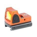 RMR Red dot sight with Picatinny and Glock mount - ORANGE