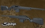 ARES Amoeba STRIKER S1 Sniper Rifle - DARK EARTH