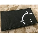 Toronto Airsoft Reticle Fabric Patch - Black