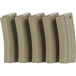 Valken Mid-CAP Thermold-140rd-5 pack - TAN