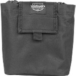 Valken V Tactical Folding Dump Pouch - BLACK