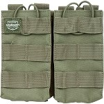 Valken V Tactical Magazine Pouch M4 AR Double - GREEN