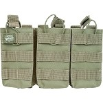 Valken V Tactical Magazine Pouch M4 AR Triple - GREEN